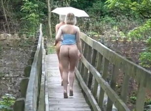 Skinny girl with big butt