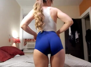 Fat ass tease